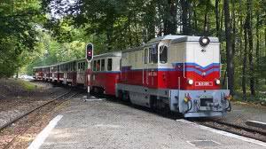 A ballagóvonat Csillebérc állomáson