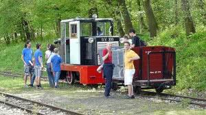 C50 típusú mozdony és rövid szerelvénye