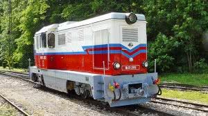 Az újjáépített Mk45,2002 pályaszámú dízelmozdony