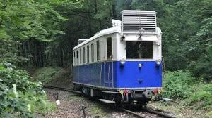 A nosztalgia motorkocsi Virágvölgy állomáson