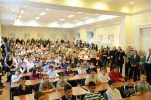 Az 55. gyermekvasutas tanfolyam résztvevői