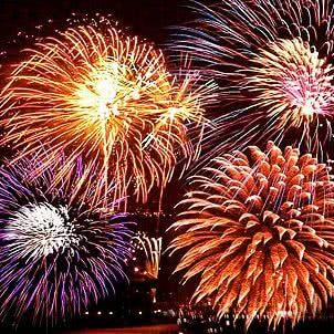 Tűzijáték-néző különvonat