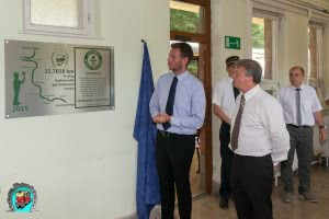 Guinness rekord emléktábla avatása a hűvösvölgyi váróteremben