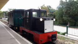 Különleges C50-es mozdony és szerelvény a budapesti Gyermekvasúton