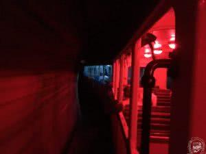 Hangulatvilágítás a vasúti kocsikban