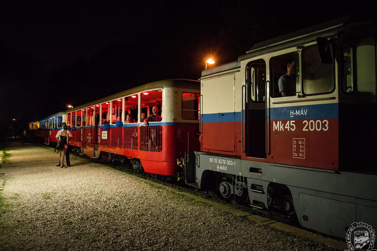 Ismét közlekedtek a vonatok a Múzeumok Éjszakáján